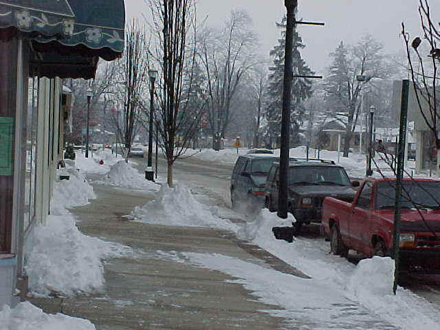 Granary District Snow Scene - December 2000