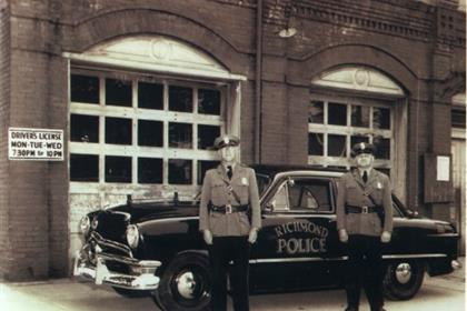 Richmond Police Department circa 1950