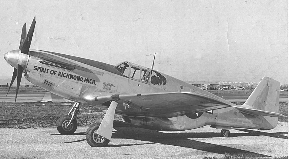 """Spirit of Richmond"" Fighter Plane"